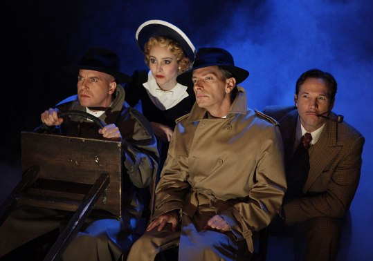 Broadway 39 Steps, photo by Joan Marcus