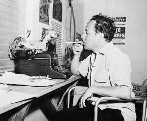 Tennessee Williams in his Key West studio, 1957. Photo: BettmannCorbis