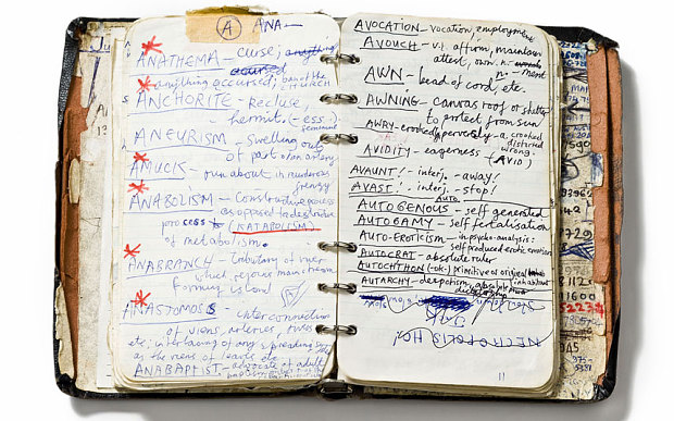 The musician Nick Cave is a lover of lists, who sometimes writes personal dictionaries filled with notable words, above Photo: Arts Centre Melbourne