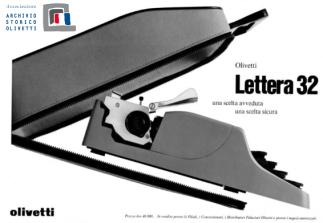 Campaña Publicitaria, Olivetti. Archivi Digitali Olivetti.